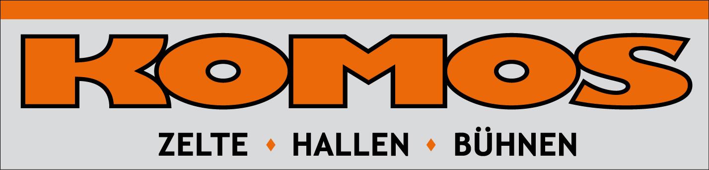 Komos Logo-zelte-hallen-buhnen